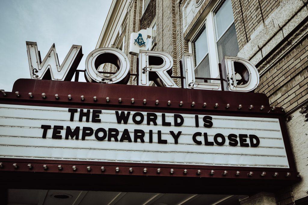 The World Is Closed, Coronavirus Impact
